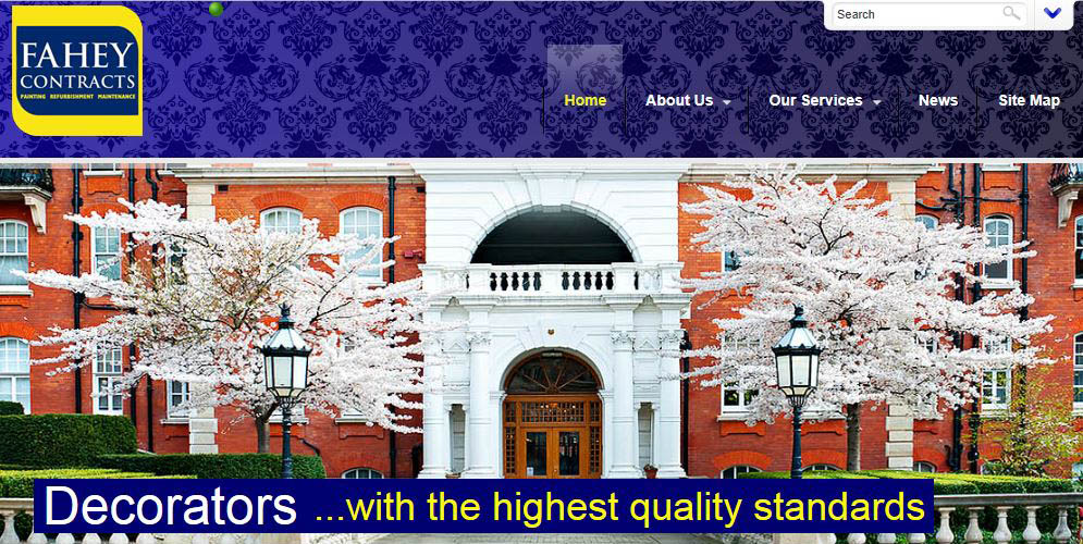 Fahey Contracts Painting and Decorating Contractors London